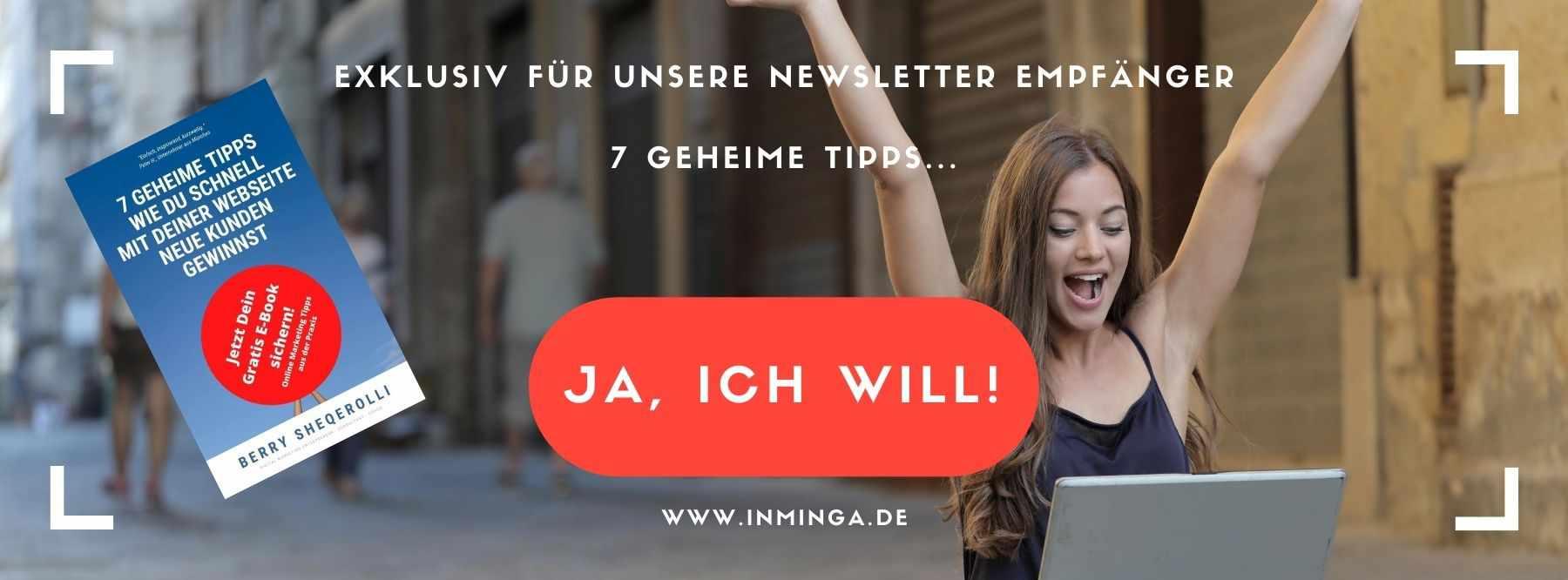 Sales Funnels und Online Marketing Agentur München inMinga 7 Geheime Tipps