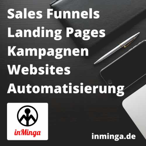 inMinga Online Marketing, Sales Funnels, Webdesign