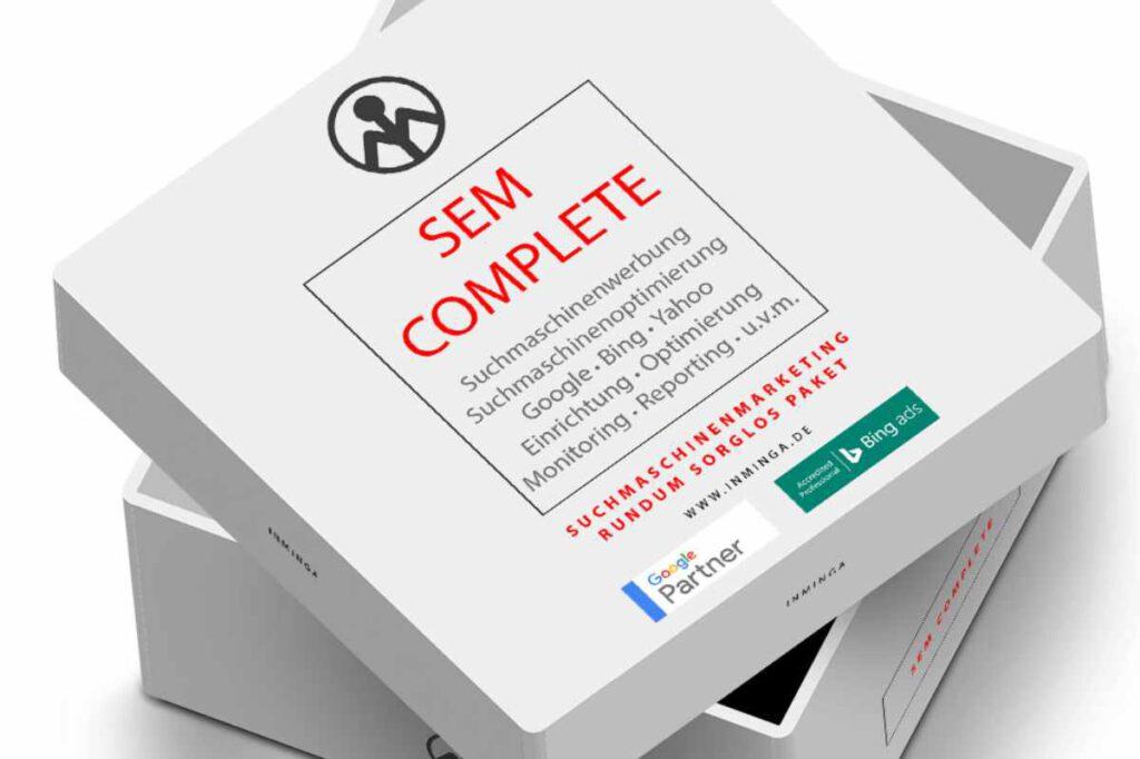 SEM Complete - Rundum Sorglos Paket im Online Marketing